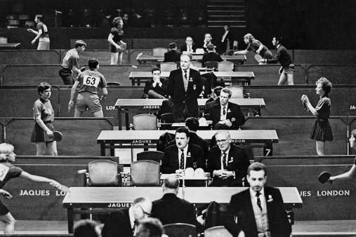 Tischtennis 1966
