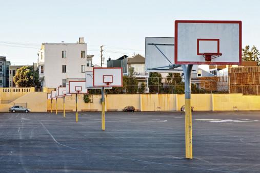 Basketballplätze in San Francisco