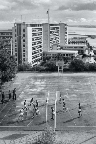 Basketballplatz in Algier