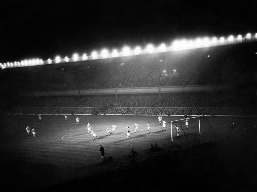 Highbury Flutlicht