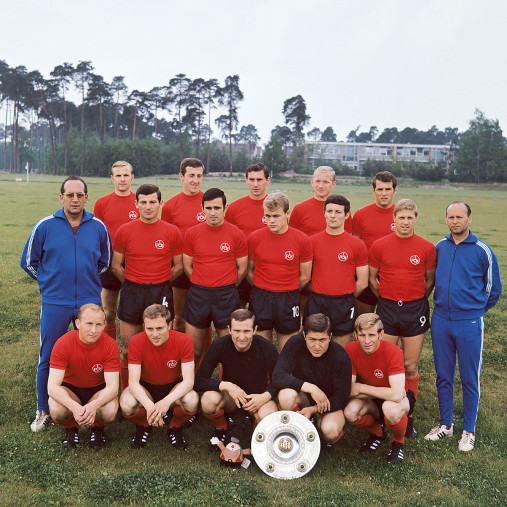 1. FC Nürnberg Mannschaftsfoto 1968/69 - 11FREUNDE BILDERWELT