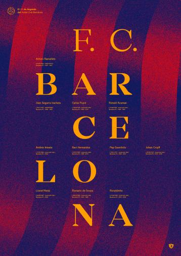 Legendary XI: Barça - Poster bestellen - 11FREUNDE SHOP