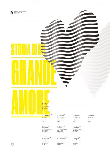 Legendary XI: Juventus - Poster bestellen - 11FREUNDE SHOP