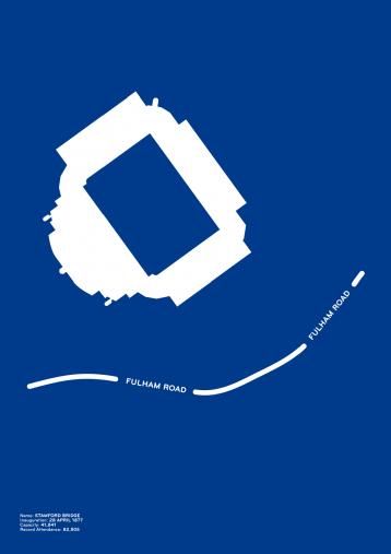 Piktogramm: Chelsea - Poster bestellen - 11FREUNDE SHOP