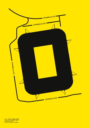 Piktogramm: Dortmund - Poster bestellen - 11FREUNDE SHOP