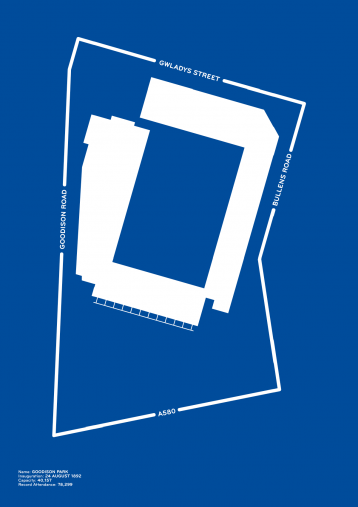Piktogramm: Everton - Poster bestellen - 11FREUNDE SHOP