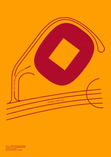 Piktogramm: Galatasaray - Poster bestellen - 11FREUNDE SHOP