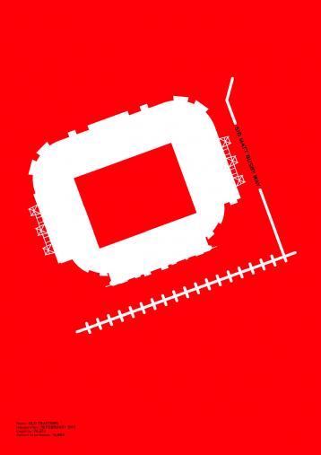 Piktogramm: Manchester Utd. - Poster bestellen - 11FREUNDE SHOP