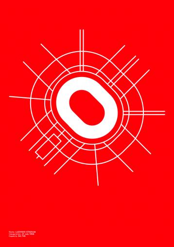 Piktogramm: Spartak Moskau - Poster bestellen - 11FREUNDE SHOP