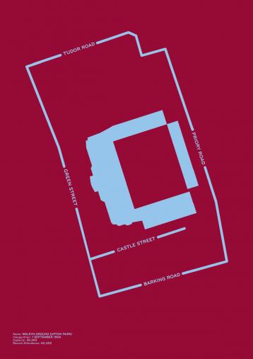 Piktogramm: West Ham - Poster bestellen - 11FREUNDE SHOP