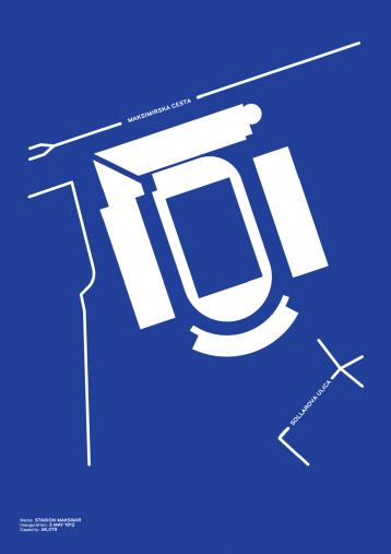 Piktogramm: Zagreb - Poster bestellen - 11FREUNDE SHOP