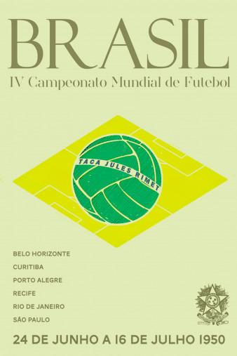 Brasil 1950 - Poster bestellen - 11FREUNDE SHOP