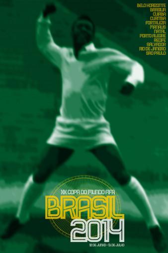 Brasil 2014 - Poster bestellen - 11FREUNDE SHOP