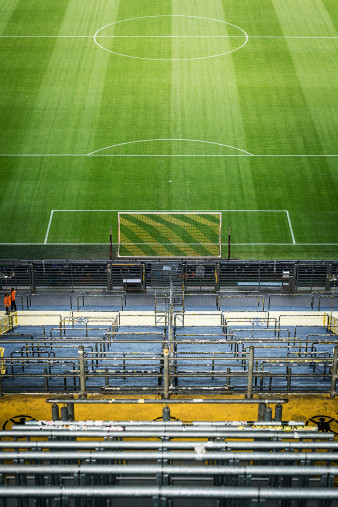 Leere Süd (Farbe) - Fußball Wandbild - 11FREUNDE SHOP