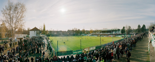 Leipzig (Chemie) - Alfred-Kunze-Sportpark - BSG Chemie Leipzig - Stadionfoto Panorama Fußball