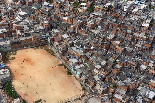 Fußballplatz in São Paulo