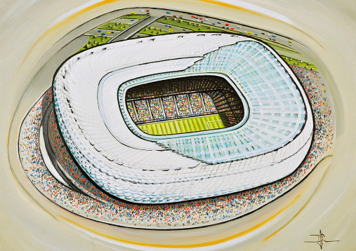 Stadia Art: Allianz Arena