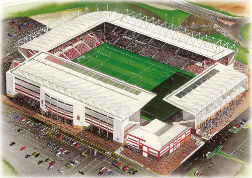 Stadia Art: Britannia Stadium
