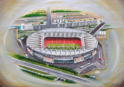 Stadia Art: Emirates Stadium (2)