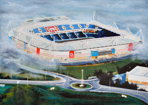 Stadia Art: Madejski Stadium