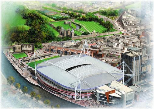 Stadia Art: Millennium Stadium
