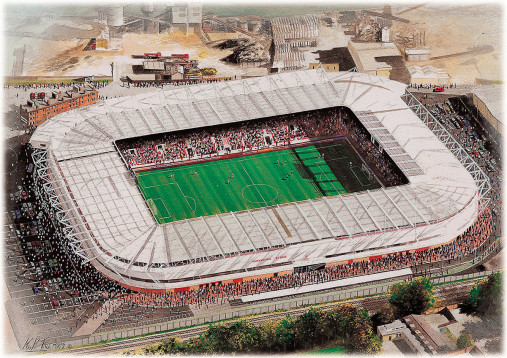 Stadia Art: St. Mary's