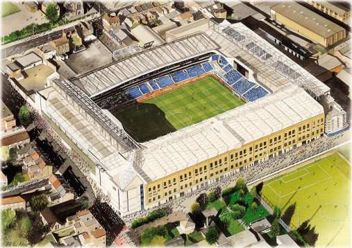 Stadia Art: White Hart Lane (2)