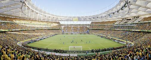 Salvador am Tag - Arena Fonte Nova - 11FREUNDE BILDERWELT