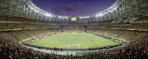 Salvador am Abend - Arena Fonte Nova - 11FREUNDE BILDERWELT
