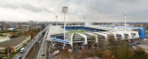 Vogelperspektive aufs Bochumer Stadion