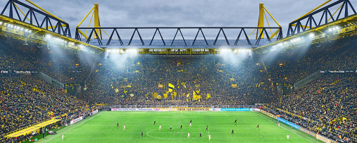 Dortmund (2019) - Fußball Foto Wandbild Poster Leinwand - BVB