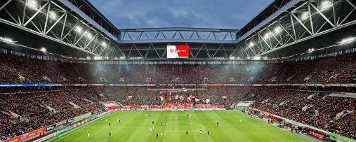 Düsseldorf (2019) - Fußball Foto Wandbild Leinwand Poster - Fortuna Düsseldorf