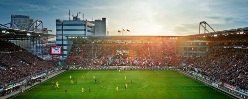 FC St. Pauli -  Millerntor Stadion - Fußball Foto Wandbild Poster Leinwand