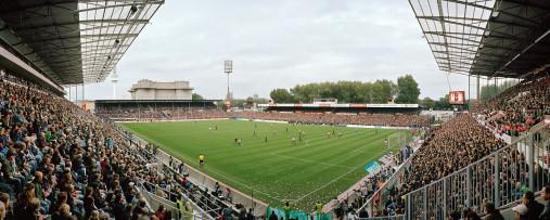 FC St. Pauli Millerntor Aufnahme von 2010 - 11FREUNDE BILDERWELT