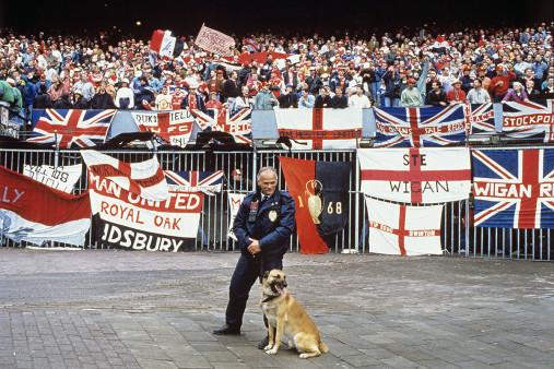 Englische Fans in Rotterdam