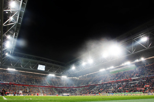 Flutlicht in Düsseldorf - Fortuna Düsseldorf - 11FREUNDE BILDERWELT