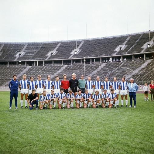Hertha 1970/71 - 11FREUNDE BILDERWELT