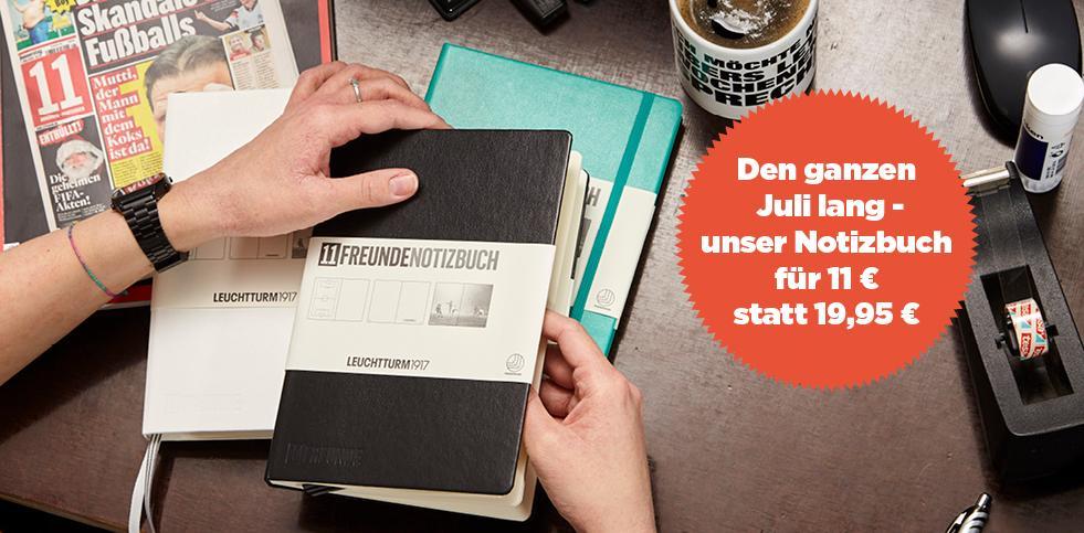 Notizbuch-Deal July
