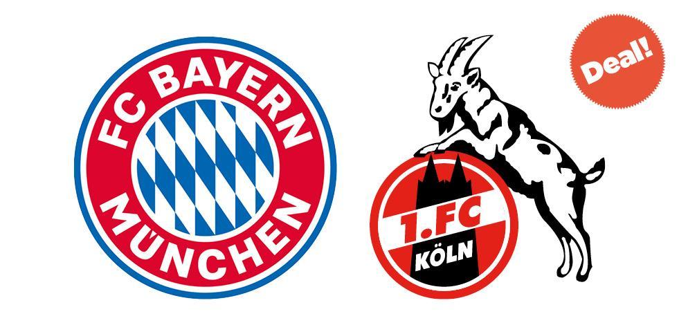 Spieltagsdeal: FCB - Köln