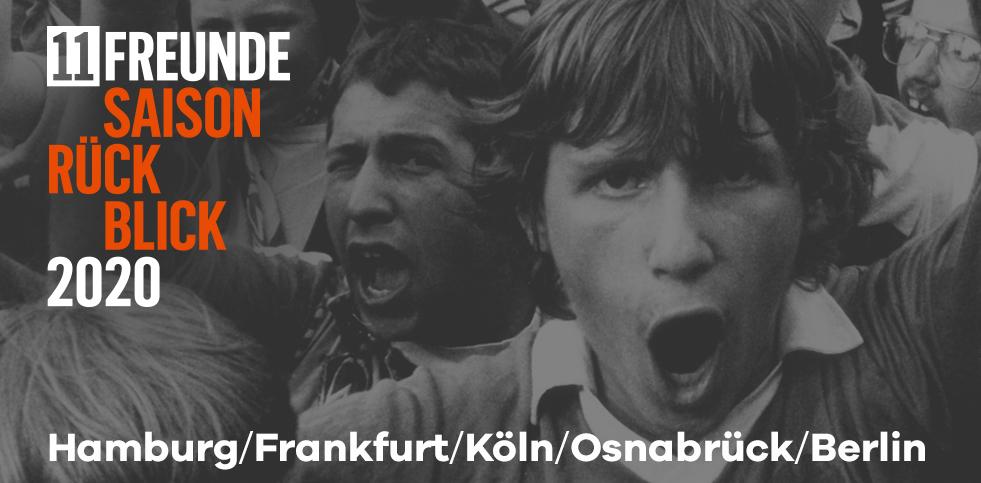 11FREUNDE Saisonrückblick 2020 - Tickets exklusiv im 11FREUNDE SHOP